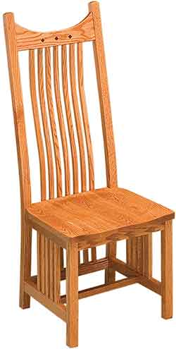 Locally Amish Made Mission Chairs