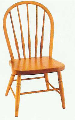 Amish Made Bow Child's Chair