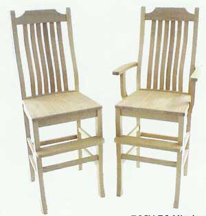 Amish Made Childrens Mission Youth Chairs
