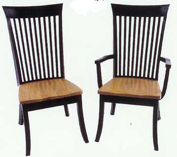 Amish Made Mission Carlisle Chair