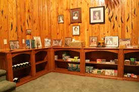 Locally Amish Custom Made Gun Cabinet Wall Unit Lower Bookcases