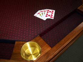 Locally Amish Custom Made Poker Table
