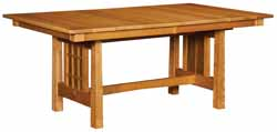 Amish made Mission style table