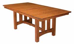 Country shaker style dining table