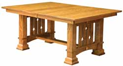 Amish made Douglas Mission dining table