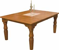 Amish made French farmhouse table