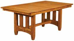 Mission styled Kensington Amish made table