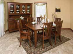Madison dining room group