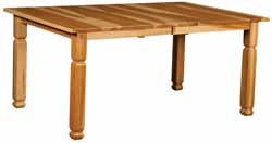 Amish made mission farmhouse table