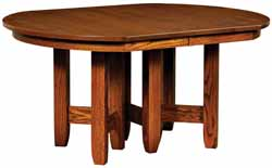 Westbrook dining table Amish made