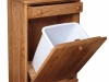 CS-Amish-Gifts-Waste-Bin-Tilt-out-w-drawer,open