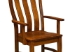 Amish Abilene Arm Dining Chair
