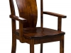 Amish Albany Arm Dining Chair