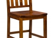 Amish Alberta Stationary Bar and Bistro Stool