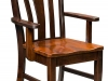Amish Made Batavia Arm Dining Chair