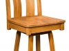 Amish Bostonian Swivel Bar Stool