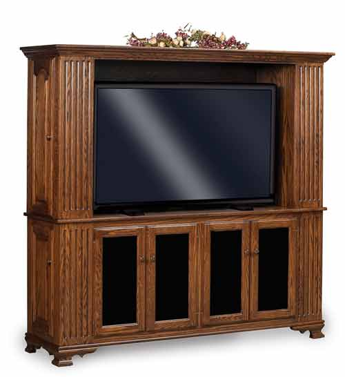 Amish Custom Made TV Stands And Media Centers