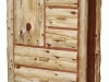 FiS-Amish-Rusic-Log-Armoire-Side-Door